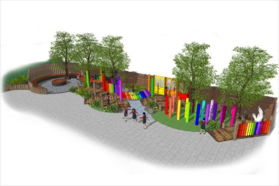 Design of childrens play area