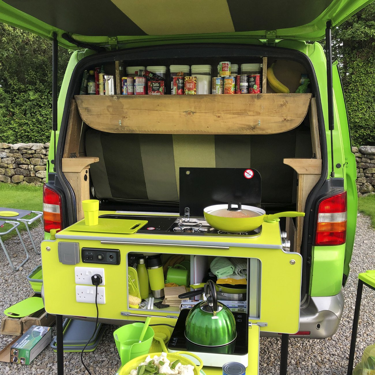 Camper Van conversion design and build