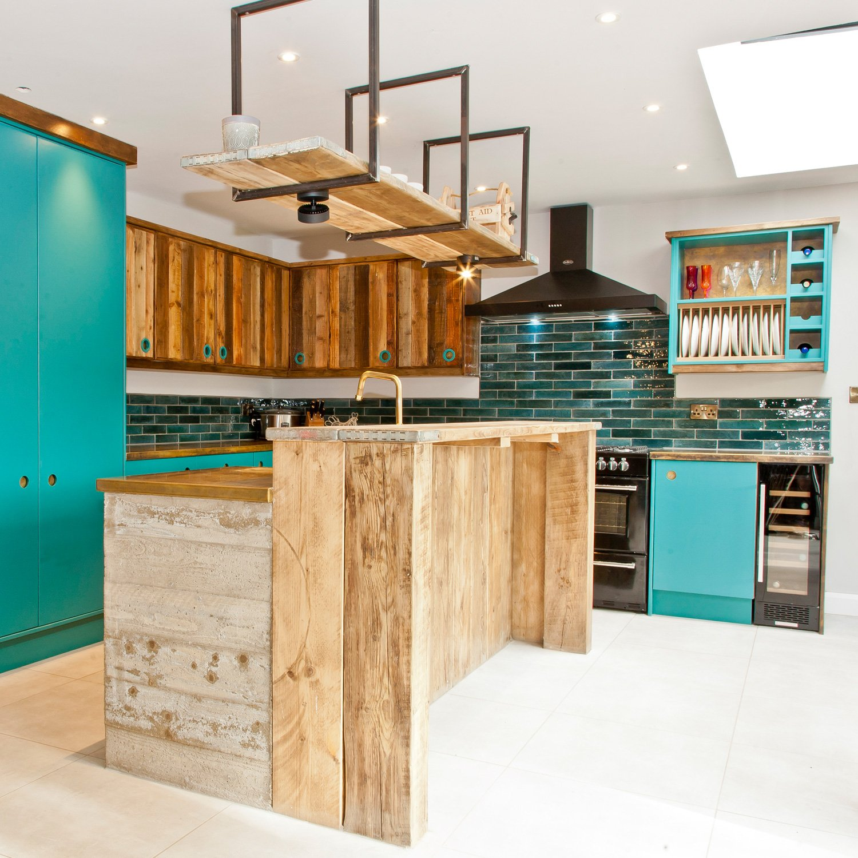 Interior of bespoke Kitchen design project
