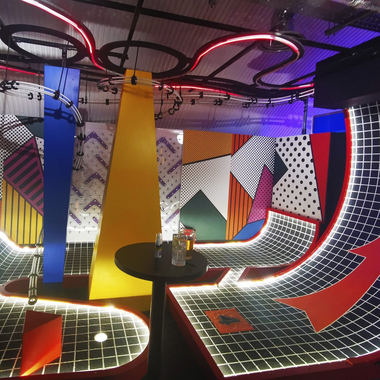 Commercial Fit out for Birdies Crazy Golf venue